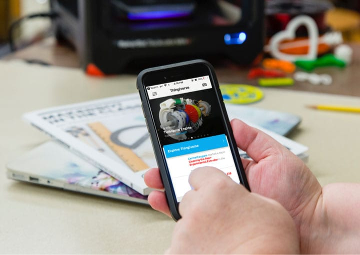 Thingiverse-Mobile